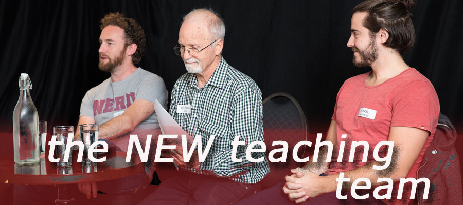 Glenn Quinn, Richard Sarell, Kyahl Anderson